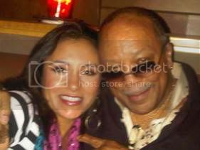 Jessy J and Quincy Jones
