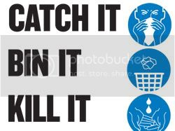 Catch it, bin it, kill it - swine flu