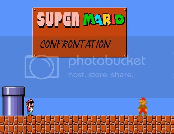 Super Mario Confrontation Pictures, Images and Photos